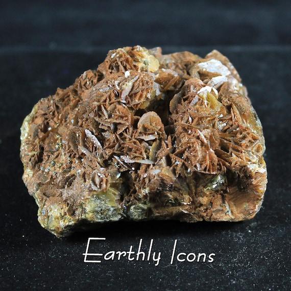 Barite (Cockscomb Crystals) with Chalcopyrite Raw Mineral Specimen