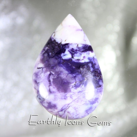 Morado Purple Opal Designer Cut Cabochon; Mexican Grape Opal