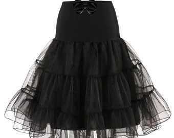 f12425a13 Black Petticoat, Petticoat, LOTS OF COLOURS available, 25inches Long