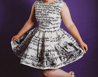 3e380728e9 Alice In Wonderland Dress Adult