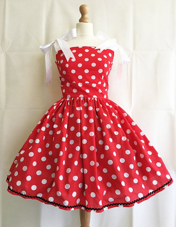 e125e6af9 Adult Minnie Mouse Costume Minnie Mouse Dress Minnie Mouse