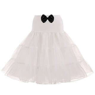 White Petticoat, Petticoat, LOTS OF COLOURS available, 25inches Long