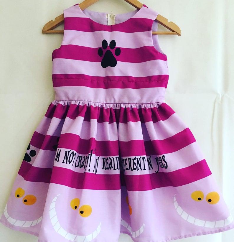 e5164625d13 Alice In Wonderland Childs DressBridesmaid dress Flower Girl