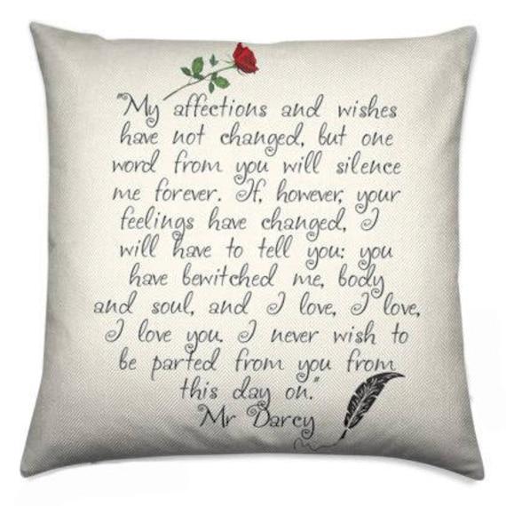Romantische Geschenke Hochzeitsgeschenk Mr Darcy Gift Etsy