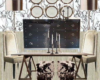 Dining Room Decor  Online Interior Design    Custom For Your Space   Interior Design   Furniture   Dining Table   Dining Chairs