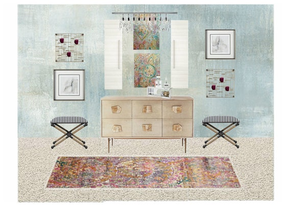 Online Interior Design Pick 2 Rooms And Get 10 Off Living Etsy