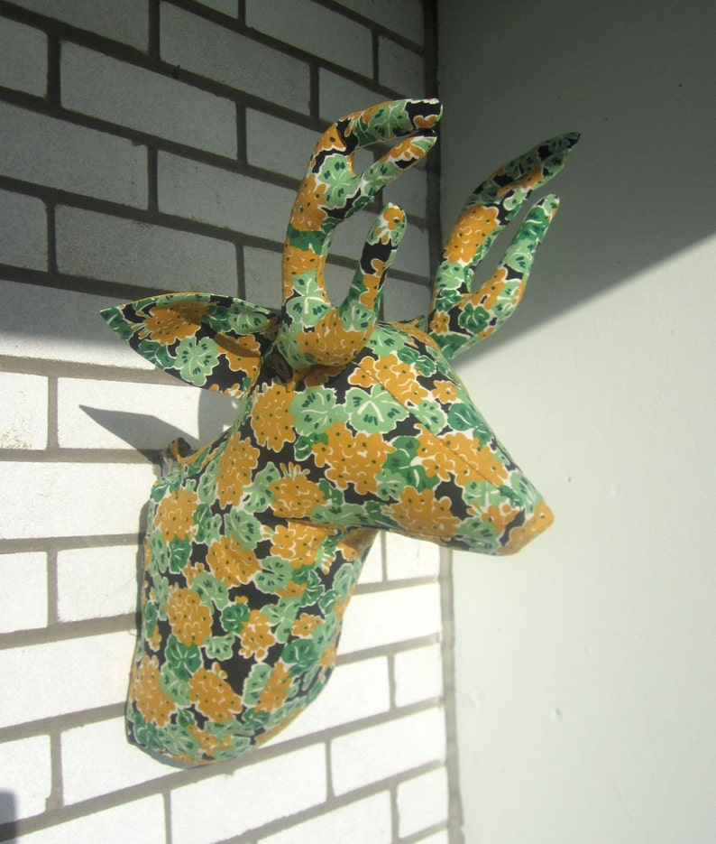 Sewing Pattern Wall Mounted Deer Head Sewing Pattern PDF image 0