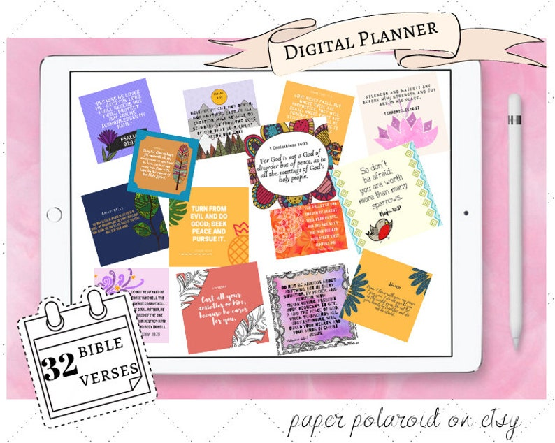 Digital Planner iPad Planner Good Notes Notability Planner Digital Stickers  Dated Digital Planner Tablet Planner GoodNotes Planner Custom