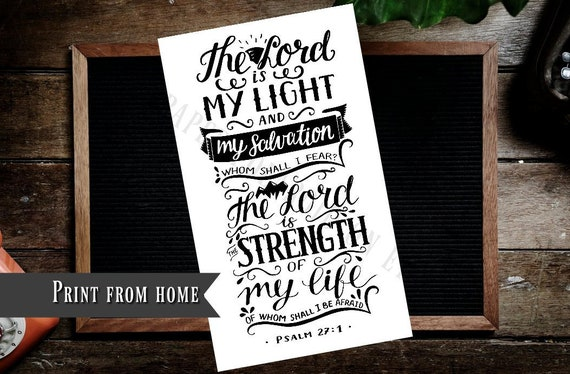 psalms quotes bible journaling printable margin coloring