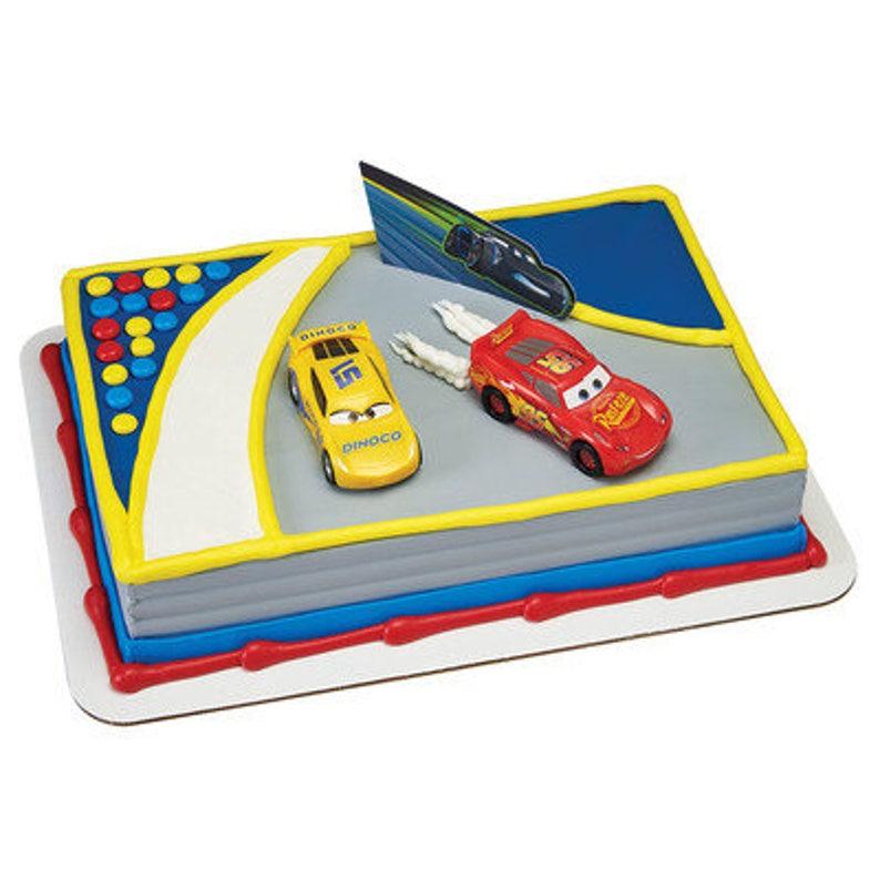 Cars Cake Kit Etsy