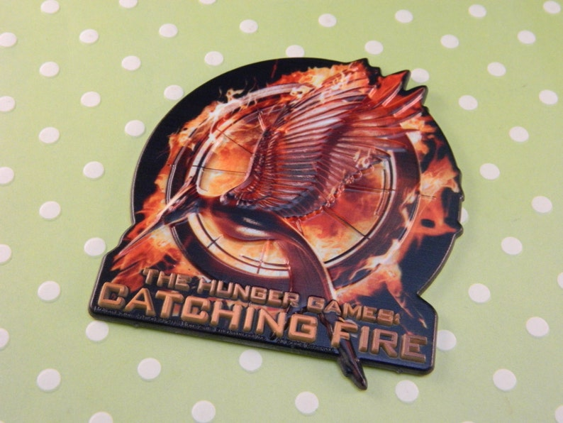 Hunger Games Catching Fire Cake Topper Pop Top Etsy