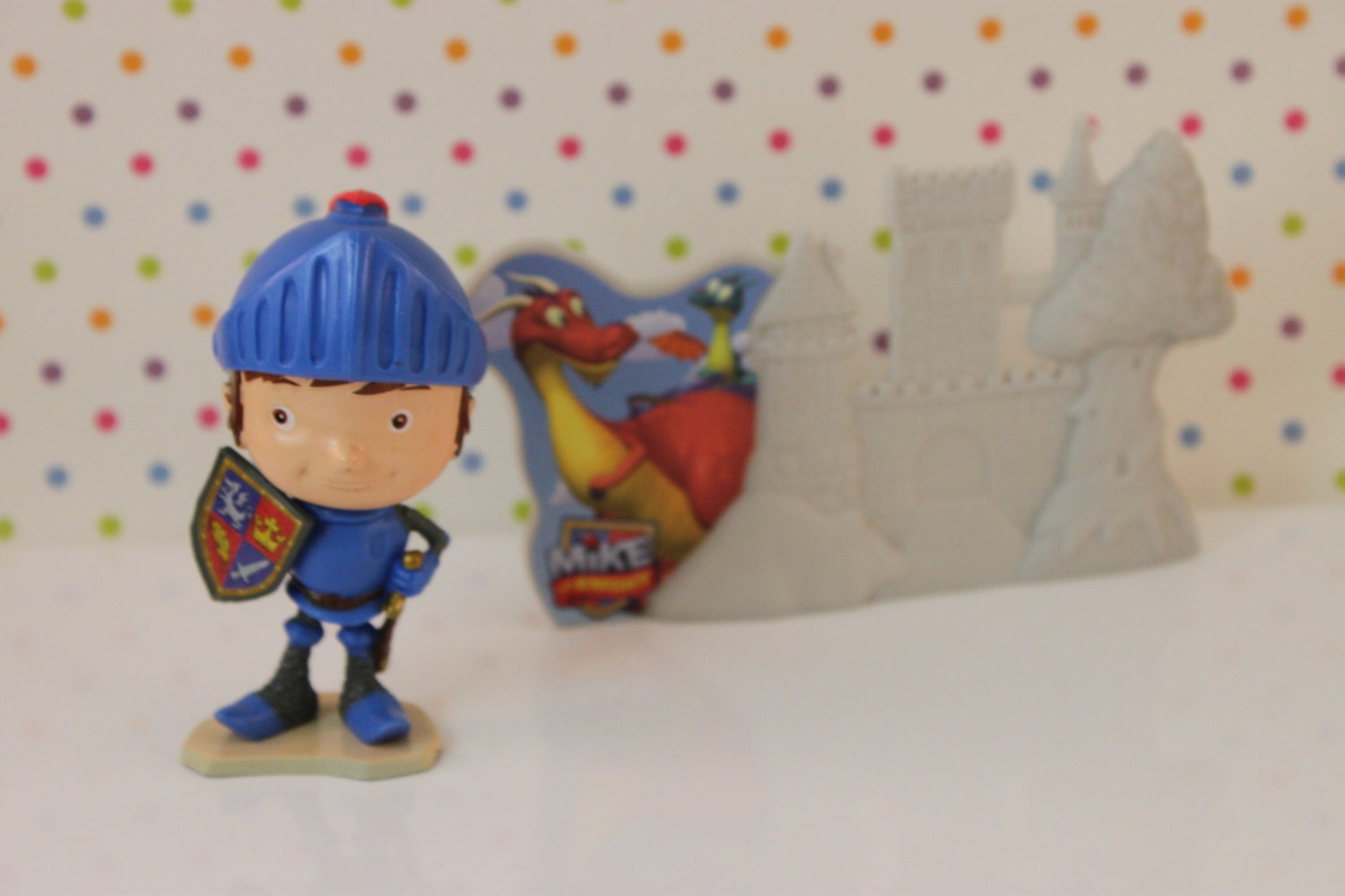 Mike The Knight Cake Topper Kit Toppers Decorations Etsy