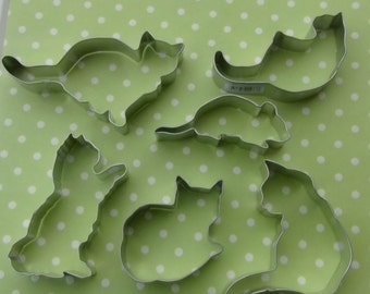 The Cat's Meow Cookie Cutter Set