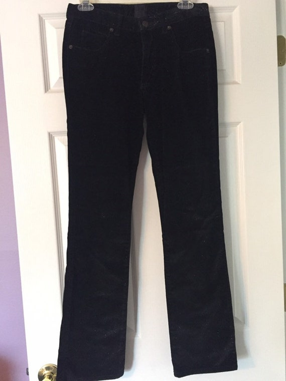 Anna Sui Black Sparkly Pants