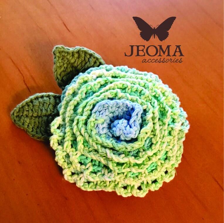 Crochet Flower Diagram Pattern Etsy