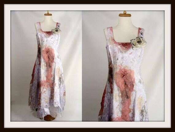 Maßgeschneiderte. Blutiger Zombie Prom Kleid. Brautjungfer