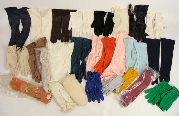 Vintage 50s 60s Dress Gloves WHOLESALE LOT 24 Pair