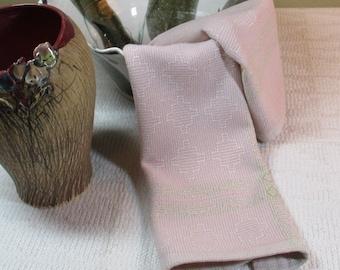 E1205 Handwoven Table Runner or Dresser Scarf - Shadow Weave
