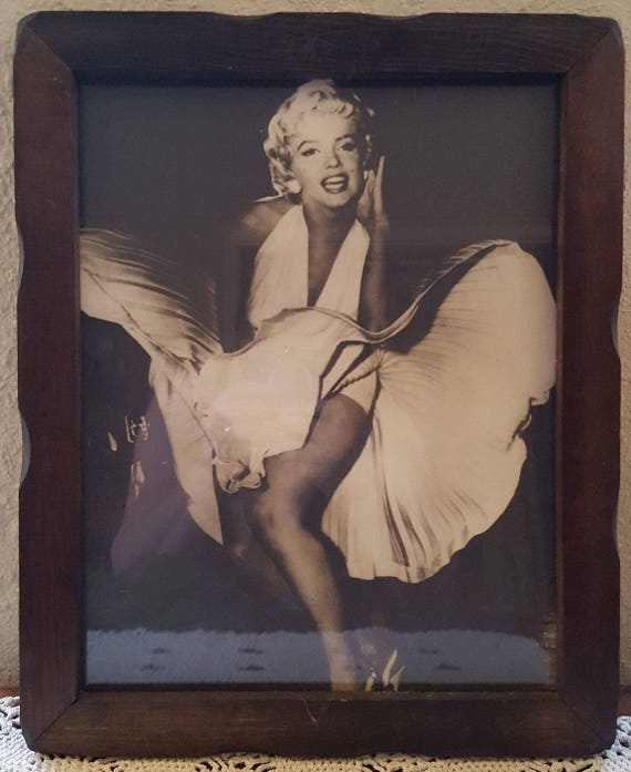"11/""x14/"" Marilyn Monroe Extremely Rare Large Print Most Erotic Artwork"