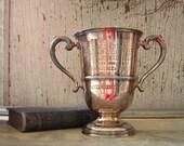 Wonderful Vintage Trophy Loving Cup Antique Old
