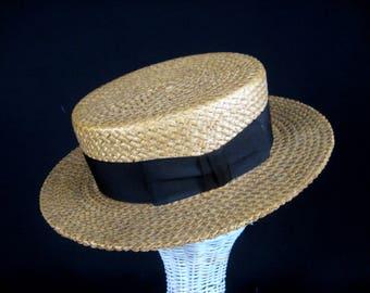 8d0d1f7c2f5 Vintage Boaters   Panama Hats