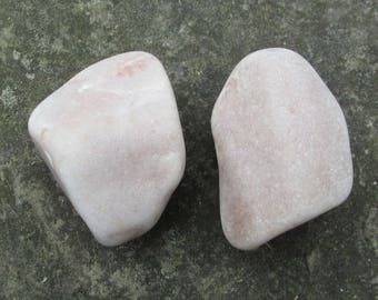 Beach Stone Cabinet Knobs ROSE MARBLE Natural Beach Stone Cabinet Knobs