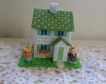 Easter Bunny Miniature House  Easter Village