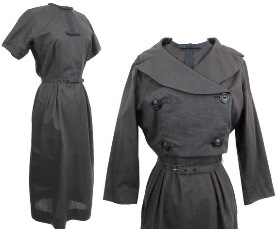 Vintage 1950s Dress | Bolero Jacket | L'Aiglon | B