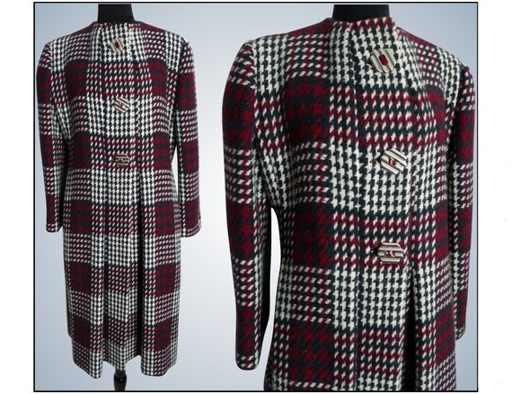 Vintage Pauline Trigere Coat | Designer Coat | Win
