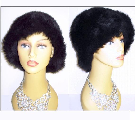Vintage 1960s Hat  // Lamb // Fur Hat //  Designer