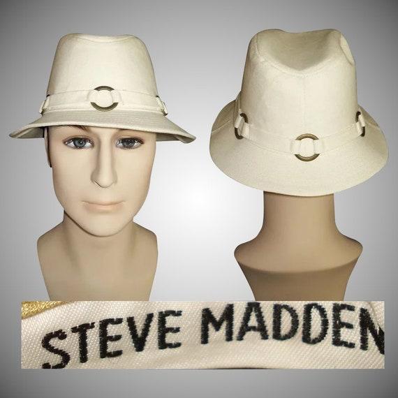 Vintage Fedora Men's  Hat  .  Steve Madden  . Fedo