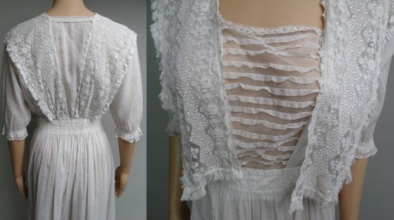1900s Edwardian Dress //Edwardian Tea Dress // FI… - image 5