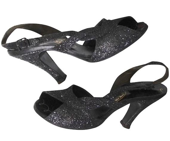 Vintage 1950s I. Miller Slingback Heels