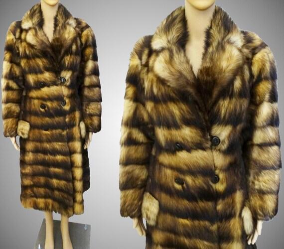 GORGEOUS Vintage Fitch Fur Coat Donald Brooks Bout