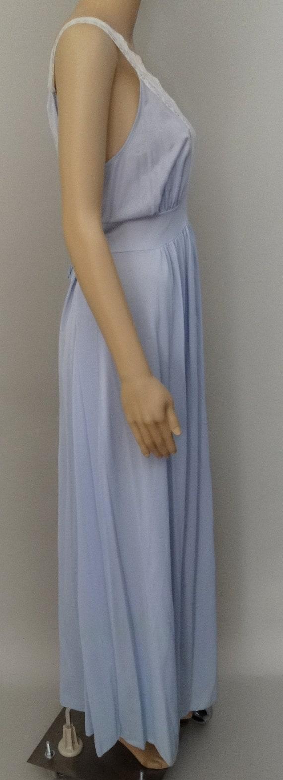 Vintage 1960s Peignoir Set | Burlesque Set | Blue… - image 4