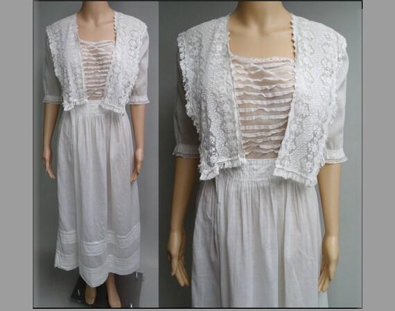 1900s Edwardian Dress //Edwardian Tea Dress // FI… - image 2