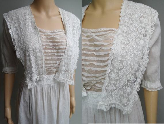 1900s Edwardian Dress //Edwardian Tea Dress // FI… - image 4