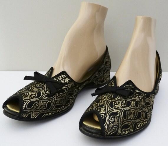 1940s Daniel Green Boudoir Slippers NOS