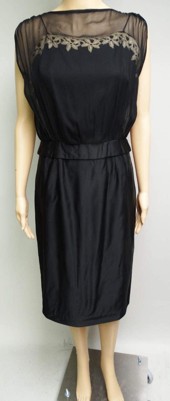 Vintage 1950s Dress   Designer Dress   Natlynn   … - image 5