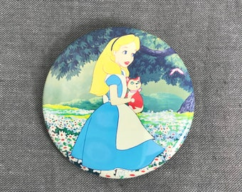 Alice in wonderland | Disney Pin trading | Storybook Buttons Badges | Party Favors | bookbag, backpack and fannypack pins and buttons