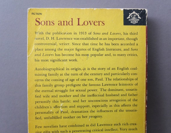 sons and lovers literary criticism