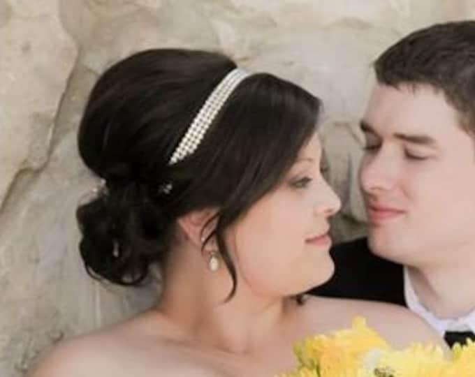 Crystal Headband, Wedding Headpiece, Rhinestone headpiece, bohemian Hair Accessories, Bridal Headpiece, Wedding Headpiece, Hair Accessory