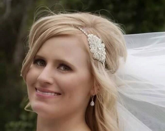 Cinderella Rhinestone Headband- Wedding Headband, Bridal Accessories, Wedding, Bridal, Rhinestone Hair Piece, Accessories