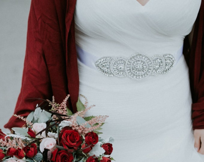 Wedding Dress Sash, Wedding dress belts, KATARINA, Bridal Belt, Rhinestone Sash, wedding Belt, Wedding Belt, Wedding Sash