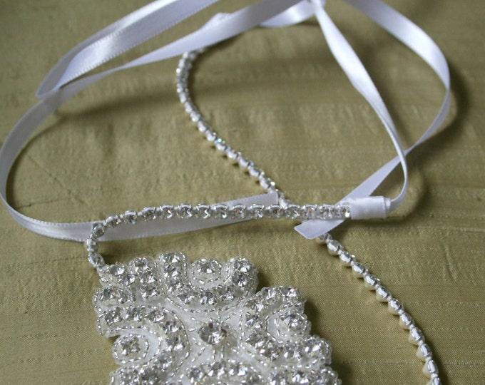 Wedding Headpiece, Headband, CINDERELLA, Rhinestone Headband, Wedding Headband, Bridal Headpiece, Bridal Headband, Rhinestone, Accessories