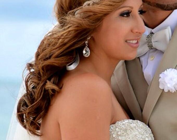 Bridal Headband, Wedding Headpiece, Rhinestone Headband, Hair Wreath, Wedding Headband, Bridal Hair Piece, Bridal Headpiece, Rhinestone