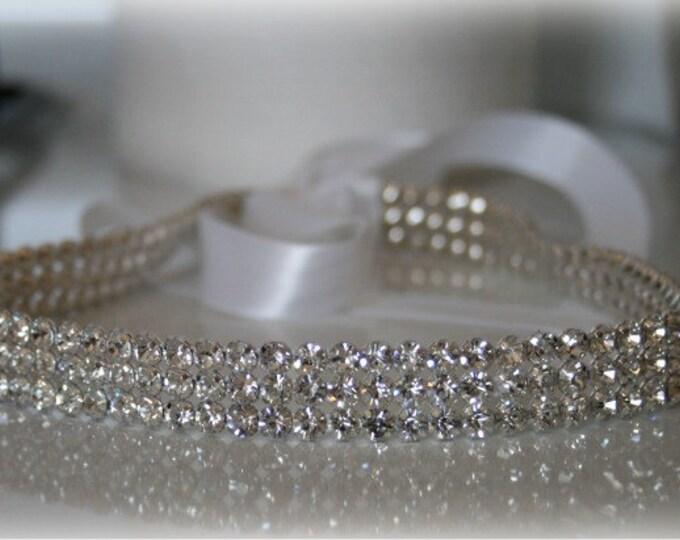 Bridal Headband- SPARKLE, Wedding Head Band, Headband, Accessories, Bridal, Wedding, Hair Accessory, Bridal Head Band