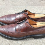 Reserved for Josh- his vintage Horween shell cordovan burgundy MacNeil longwing 9097 - Made in the USA Allen Edmonds 12AA - 650.00 retail