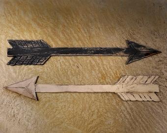 Rustic Arrow Decor Arrow Set Rustic Decor Boho Chic Decor 2 Pc Set