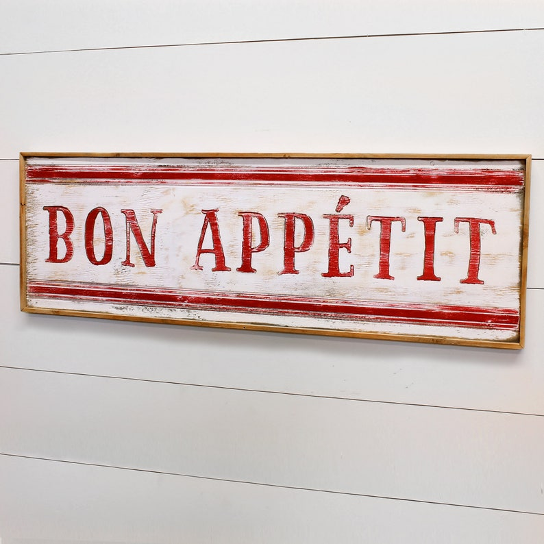 French Kitchen Wall Decor